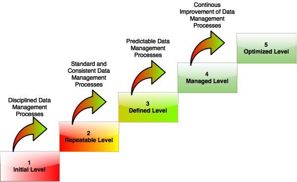 Data Management Maturity Levels