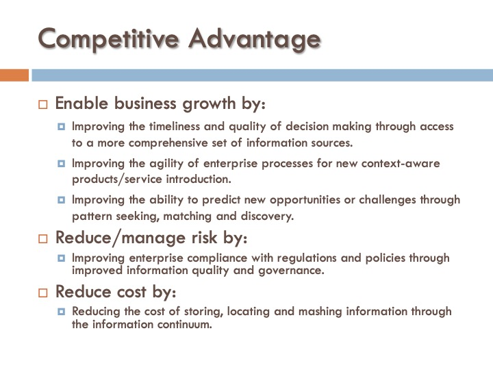 ICF 16 - Competitive Advantage