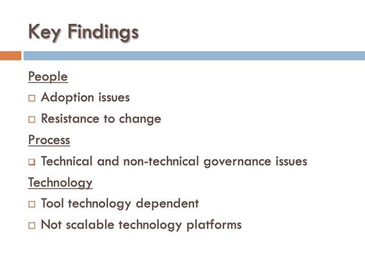 ICF 3 - Key Findings