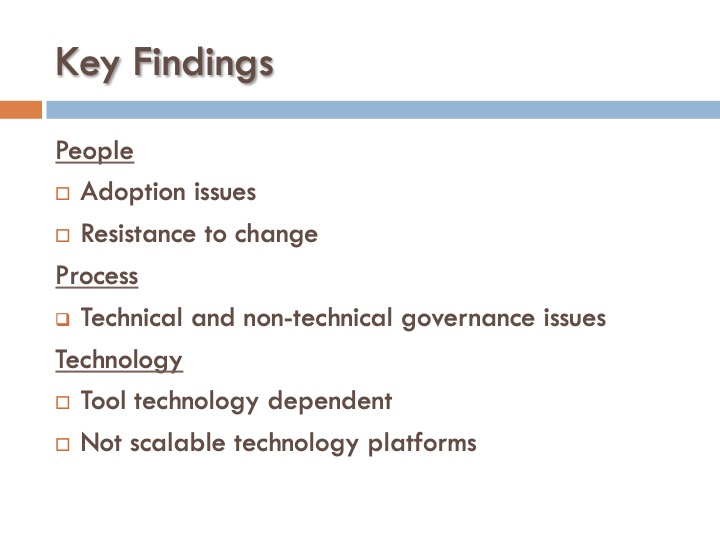 ICF 3 - Key Findings