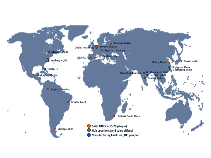 VoIP Figure 3 - On-Premise VoIP Solution Locations